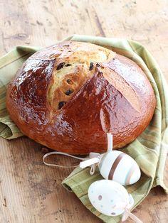 Croissant, Pan Bread, Bread Rolls, Easter Recipes, Sweet Bread, Bread Recipes, Sweets, Baking, Desserts