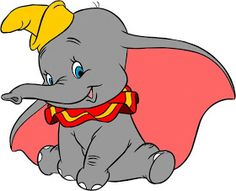 Photos of Dumbo. Images of Dumbo. Pics and coloring pictures of Dumbo. Dumbo Cartoon, Disney Cartoon Characters, Disney Cartoons, Disney Films, Walt Disney, Dumbo Movie, Dumbo Disney, Disney Babies, Dumbo Baby Shower