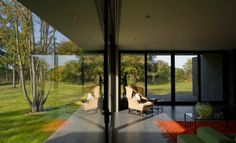 Perfect Indoor/Outdoor Communication: The Wilderness Residence