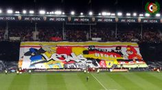 France: anniversary of Red Tigers! Rc Lens, 20th Anniversary, Old And New, Tigers, Soccer, France, Sports, Red, Hs Sports