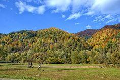 Poland, Pieniny, Autumn, The Sun