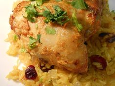 Grilled Indian-Style Curry Yogurt Chicken