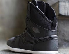 3d1dde0f05c2 Not sure what to think about these  Air Jordan 1 Skinny High GS – Black