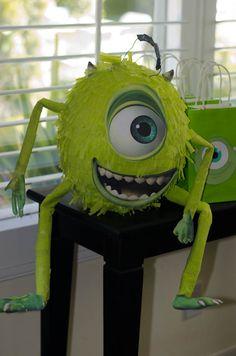 Monsters Inc. piñata by Christine Vu