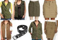 Flashback Friday: Military + Safari Looks — J's Everyday Fashion