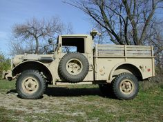 Dodge M37 deserttan Dodge Vehicles, Rescue Vehicles, Army Vehicles, Jeep 4x4, Jeep Truck, Classic Trucks, Classic Cars, Vintage Cars, Antique Cars