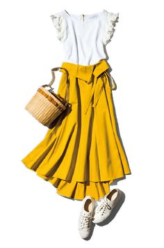 Work Fashion, Skirt Fashion, Trendy Fashion, Korean Fashion, Spring Fashion, Womens Fashion, Fashion Trends, Kinds Of Clothes, Elegant Outfit