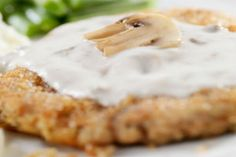 Baked Chicken Fried Chicken | The Dr. Oz Show -- Tastes fried, but done in the oven with 1/2 the fat and calories