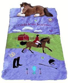 (CARHSB909) ''English'' Horse Slumber Bag