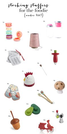 Stocking Stuffers for the Foodie (All Under $10)