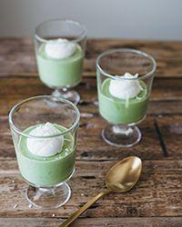 Matcha White Chocolate Mousse Recipe on Food & Wine