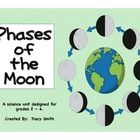 Phases of the Moon - Grades 2 -4  This is an easy unit to teach the Phases of the Moon without a lot of teacher prep.  This unit includes: *  Teach...