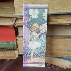 Flower Fairies Pinks Book Page and Ribbon Bookmark Ribbon Bookmarks, Charity Shop, Flower Fairies, Special Person, Book Pages, Alchemy, New Books, Fairy, Creative