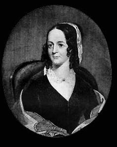 This is Sarah Josepha Hale, she was hired as the first woman editor of a general circulation women's magazine, Godey's Lady's Book.     This is so fun! I bet her friends and family thought she was crazy!