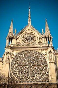 Gothic Rose Window, Notre Dame