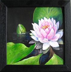 Flower of the Pink Lotus Silk Painting, Painting Art, Fertility Symbols, Sacred Plant, Pink Lotus, Chinese Symbols, Halloween Gifts, Etsy Handmade, Wedding Season