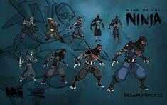 Mark of the ninja character design Ninja Games, Giant Bomb, 2d Game Art, Ninja Art, Japanese Warrior, Sword And Sorcery, Game Concept Art, Character Design Animation, Game Character