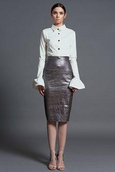 Bel Respiro Skirt AW 2016-17 Office Collection Navitique