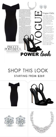 """girl power"" by dumitraciopeica ❤ liked on Polyvore featuring Maje, Giuseppe Zanotti and Henri Bendel"