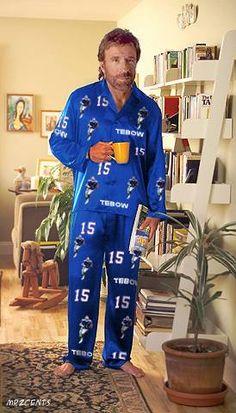 superman wears tim tebow pajamas - Google Search