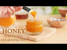 LITTLE DIY - YouTube Honey And Turmeric Mask, Water Benefits For Skin, Clear Skin Face Mask, Beauty Tips With Honey, Face Baking, Diy Hair Treatment, Homemade Skin Care, Glowing Skin, Raw Honey