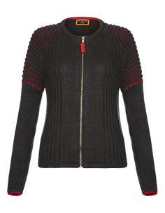 Graduate Fashion Week Knitted Bomber Jacket | Women | George at ASDA