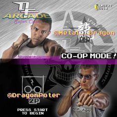 On instagram by electridragona #arcade #microhobbit (o) http://ift.tt/1SwRBjr from @metal__dragon -  #DRAGONFIGHT  ARCADE SUPER CLASS  COOP. MODE!!! SplitScreen!  Multiplayer Selection!  1P METAL @metal__dragon 2P POTTER  @dragonpoter  La super clase que ya conoces viene recargada de DOBLE ENERGIA! Se unen las fuerzas de METAL DRAGON y DRAGON POTTER! Doble carisma doble energia y doble el poder. No te la puedes perder!  JOIN IN THE GAME!  Miercoles 6Ene 6:00pm Son solo 10 cupos  Informacion…