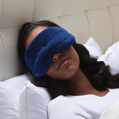 My ultimate must have - completely blocks out light - and pillow forms to face, but is hollowed around eye area.