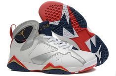 "sports shoes 994a4 4d63d Buy Air Jordan 7 Retro ""Olympic"" White Metallic Gold-Obsidian-True Red Sale  Basketball Shoes from Reliable Air Jordan 7 Retro ""Olympic"" White Metallic  ..."