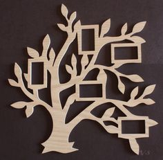 Tree Picture Frame by Venustudio on Etsy
