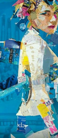 Derek Gores # Collage Art. More