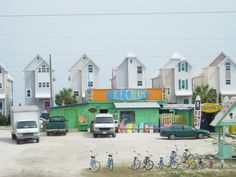 That is SeaPlace in the background.  St. George Island ~ Apalachicola FL