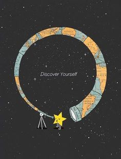 Discover Yourself, star, telescope, twinkle twinkle little star, the world
