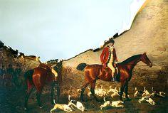 80x60cm PRINT ON ALUMINIUM Van, Horses, Nature, Painting, Animals, Lights, Naturaleza, Animales, Animaux
