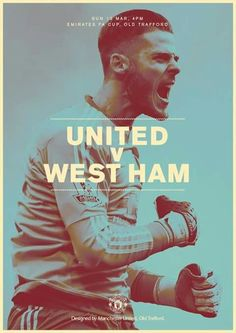 take on West Ham today for a place in the FA Cup semi-finals and a trip to Wembley. Football Love, Football Team, Soccer Art, West Ham, Old Trafford, Semi Final, Fa Cup, Manchester United, The Unit