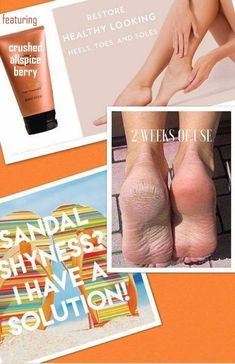 Who doesn't want beautiful feet?! This sole solution, softens and exfoliates dead cell buildup and calluses for soft, smooth skin.
