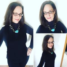 Today called for ninja bling style with Avon's Sloane Mock Neck in black paired with black leggings and black ballet flats topped with Avon's Modern Santa Fe Necklace and Hoop Earring Set for a pop of color and dazzle!  Click the link in my bio to check out all the goodies available at my eStore to create your own #NinjaBlingStyle!   #Avon #AvonFashion #AvonClothing #AvonJewelry #Fashion #Clothing #Jewelry #Ninja #Bling #Necklace #Earrings #Gold #Black #Shirt #Top #AvonRep #AvonSelfies… Avon Clothing, Avon Fashion, Black Ballet Flats, Top Drawer, Santa Fe, Black Leggings, Mock Neck, Earring Set, Color Pop