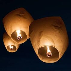 Biodegradable Sky Lanterns
