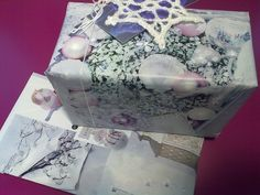 Christmas gift wrapping, recycled paper