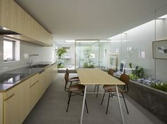 Amazing House Design in Japan - a garden inside the house ... | Modern House Designs