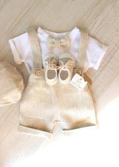 Baby Boy Fashion, Fashion Kids, Baby Baptism, Christening Clothes Boy, Baby Boy Baptism Outfit, Baby Pullover, Cute Baby Clothes, Kids Clothes Boys, Baby Boys
