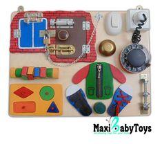 Busy Board Activity Board Sensory Board Montessori