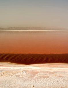 Salt Lakes - Tozeur, Tunisia