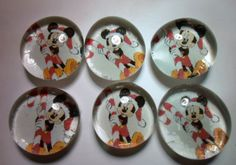 Glass Marble Magnets  Christmas / 65 by LisaChristines on Etsy, $5.00