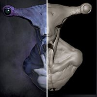 "ZBrush & Photoshop: Creating a Character Portrait in ZBrush, the Making of ""Hammerhead"""