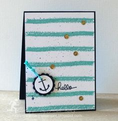 FM166 Nautical Hello by hlw966 - Cards and Paper Crafts at Splitcoaststampers
