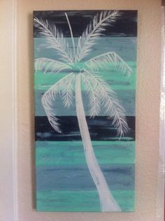 26 Ideas For Palm Tree Silhouette Painting Canvases Palm Tree Silhouette, Silhouette Painting, Diy Canvas, Canvas Art, Canvas Ideas, Painting Canvas, Diy Painting, Tree Of Life Painting, Palm Tree Paintings