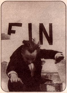 Rene Clair and Francis Picabia's breakthrough, reversible ending of their Dadaist film, L'entr-acte (1924)