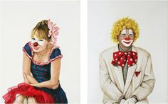 Portrait Paintings By Holly Farrell