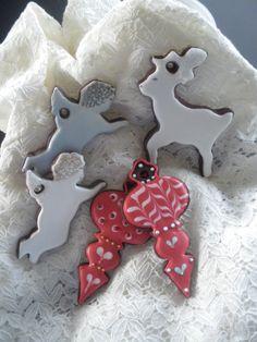 Galletas de chocolate para  el árbol de navidad .Maria Encinas